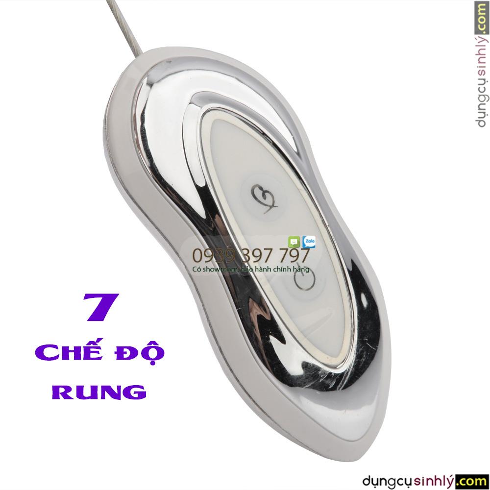 trứng rung cao cấp mạ vàng rung 7 chế độ