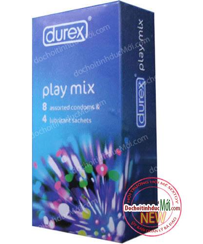 Bao Cao Su Durex Play Mix
