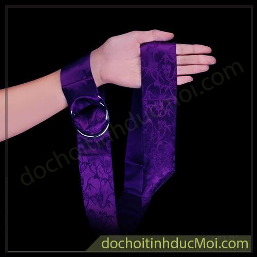 dây trói tay lelo boa màu tím