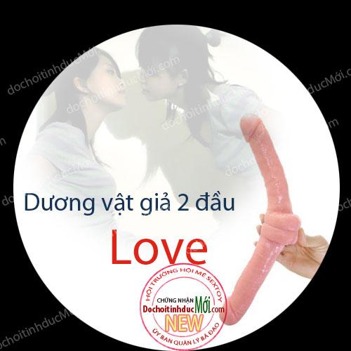 Dương vật giả 2 đầu Love