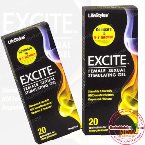 Gel kích dục nữ tăng hưng phấn EXCITE