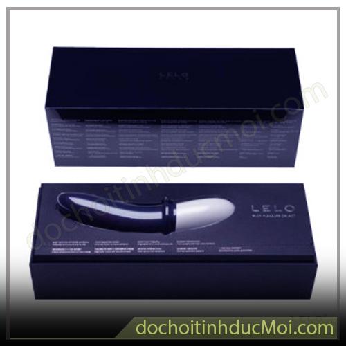 vỏ hộp sang trọng của máy massage lelo billy