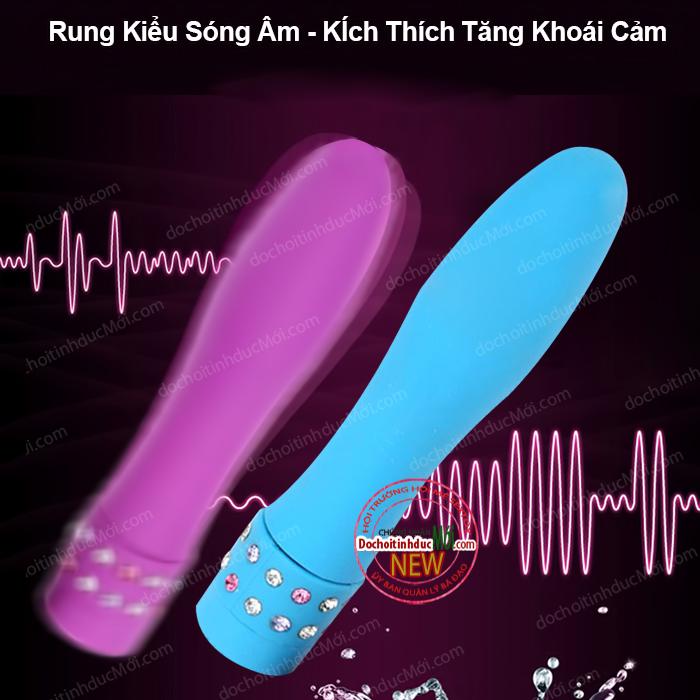Máy massage vibrator kim cương đa năng nhiều chế độ rung