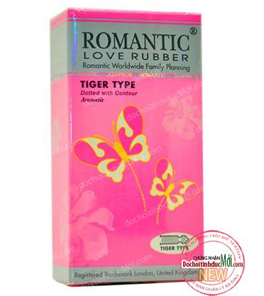 Bao cao su Romantic Tiger Type
