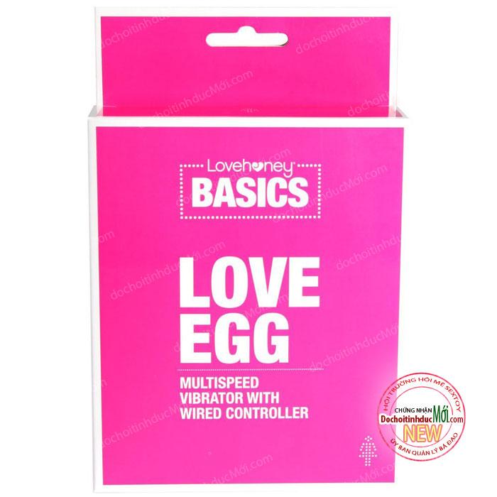 Trứng rung mạnh mẽ LoveHoney