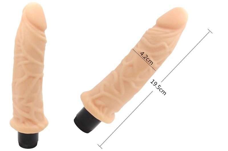 Dương vật giả silicon cao cấp giống thật Real feel 8,5 inch