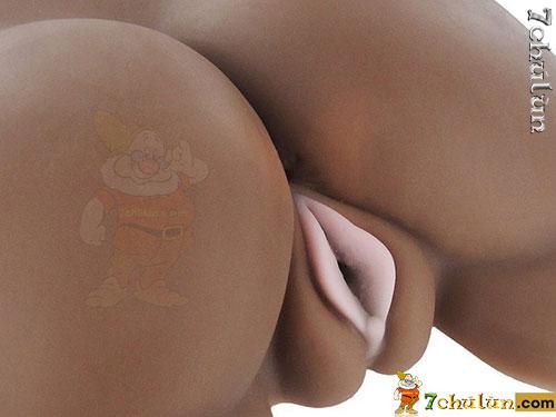 Sex toy âm đạo giả mông Sex Flesh da đen cao cấp