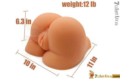 Sex toy âm đạo giả mông xinh cao cấp Moira's size lớn